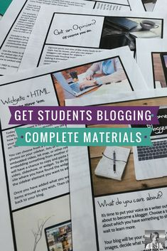 Bullet journal 101 what you need gorgeous layouts to inspire you get students blogging try this unique writing unit to empower your students to put their solutioingenieria Image collections