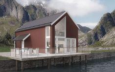 Lanserer nytt moderne takdesign - Byggmakker.no St Francis, Home Fashion, House Plans, Cabin, Architecture, House Styles, Design, Home Decor, Houses