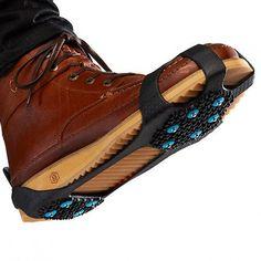 Slip into these Nordic Ice Grips for a non-slip winter run.