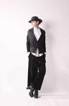 [No.7/16] YOHJI YAMAMOTO + NOIR 2013~14秋冬コレクション | Fashionsnap.com