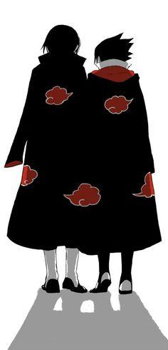 Itachi and Sasuke Uchiha Naruto Shippuden, Boruto, Naruto Art, Anime Naruto, Naruto Pics, Sasuke And Itachi, Sasuke Akatsuki, Hotarubi No Mori, Sad Anime
