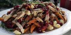 Family-Style Holiday Poutine 30 ways to use leftover Turkey Canadian Dishes, Canadian Cuisine, Canadian Food, Canadian Recipes, Leftover Turkey Recipes, Leftovers Recipes, Potluck Recipes, Cookbook Recipes, Cooking Recipes