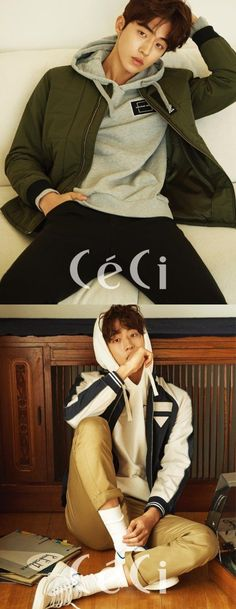 Nam Joo Hyuk models the perfect boyfriend look in 'Ceci' | allkpop.com