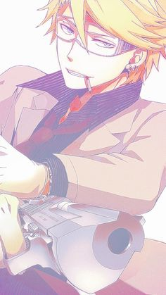 Aoharu x Kikanjuu ☆ Matsuoka Masamune... This sensitive bae (*3*)