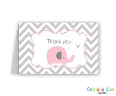 Hey, I found this really awesome Etsy listing at https://www.etsy.com/listing/125966559/baby-shower-thank-you-cards-chevron