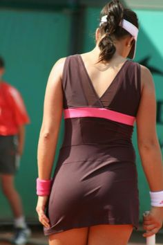 Ana Ivanovic WTA cameramen would have a field day during matches because that's how they do