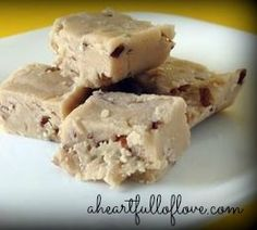 Butter Pecan Fudge #Recipe