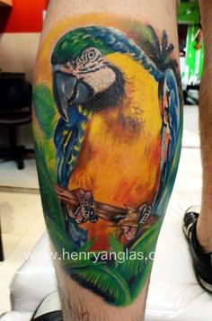 Tattoo Artist - Henry Anglas Padilla - animal tattoo | www.worldtattoogallery.com