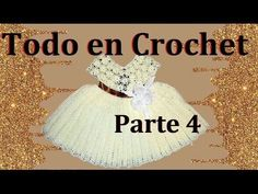 vestido de flores a crochet parte 4 de 4 - YouTube