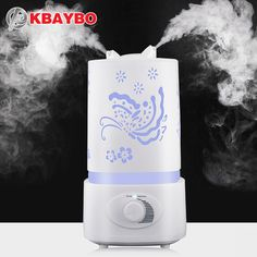 Air Humidifier Aroma Diffuser 7 Color LED With Carve Essential Mist Maker for Home Office Baby Room Bedroom Spa