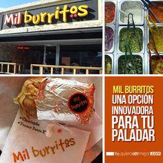 Mil Burritos, una opción innovadora para tu paladar #QueHacerEnElSalvador #Burritos #Comida #Ocio #Restaurantes #Yoquierosermejor