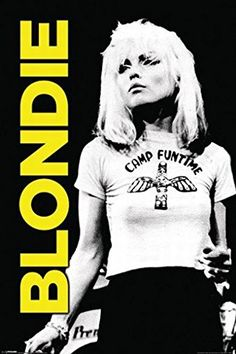 Debbie Harry Fridge Magnet Back in my school days (yes, it was a long, long time ago!) many kids associated Blondie purely with lead si. Blondie Debbie Harry, Rock Posters, Music Posters, Art Posters, Film Posters, Illustrations Posters, Stretched Canvas Prints, Blondies, Punk Rock