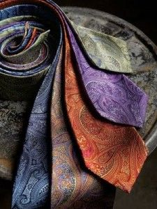 Paisley is my hands-down favorite for ties. Always seems to be the one I go for.