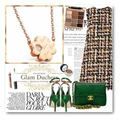 """""""Glam Duchess"""" by glamduchess ❤ liked on Polyvore featuring Dolce&Gabbana, Chanel, Max Studio, Stila and Charlotte Russe"""