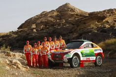 Team Repsol - Mitsubishi Ralliart Racing LANCER - Dakar 2009