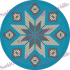 Tapestry Crochet Patterns, Crochet Granny, Plastic Canvas, Rosettes, Projects To Try, Purses, Knitting, Coaster, Handbags