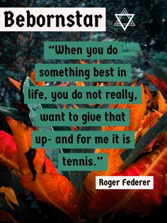 Let's unfold how 21 Roger Federer Quotes made me a better person by first, learning about Roger Federer who is a Swiss professional Tennis player Roger Federer Quotes, Wimbledon Final, Positive Thinker, Professional Tennis Players, Tennis Quotes, Manny Pacquiao, Play Tennis, Rafael Nadal, Maria Sharapova