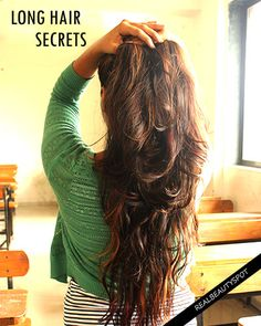"""""""Indian women have long lustrous hair""""- I am sure, no one would deny it. I have seen many Indian women who have long black hairs; my grandma still has long a..."""