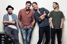 Nice guys: from left, Jesse Quin, Tim Rice-Oxley, Tom Chaplin and Richard Hughes