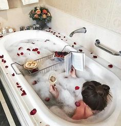 The occupation in this photo is relaxing in the bath, this means alot to me as it allows me to relax after a long day and de-stress which is good for my mental health and well being. Entspannendes Bad, Flirty Quotes For Him, Dream Bath, Love Is In The Air, Relaxing Bath, Spa Day, Me Time, Bath Time, Bath Bombs