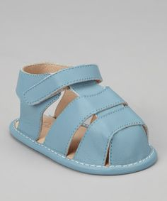 Look what I found on #zulily! Sky Blue Fisherman Sandal by Petit Pas #zulilyfinds