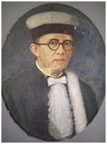 OPHIR PINTO LOYOLA, 1935. Óleo sobre tela, 60 x 48 cm. Autora: Antonieta Santos Feio.