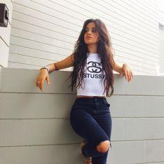 (Camila Cabello) Hi! I'm Camila Cabello, but call me Cami. I'm 17 and single. I like to sing, dance, and model. I also love Starbucks! Intro?