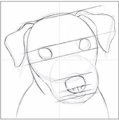 How to draw a dog step by step? - Conand Repair