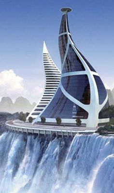 Constructivism Architecture, Dezeen Architecture, Concept Architecture, Futuristic Architecture, Beautiful Architecture, Architecture Design, Unusual Buildings, Amazing Buildings, Modern Buildings