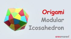 Origami Triangle Edge modules Icosahedron (intermediate - modular) #origami #unitorigami #howtomake #handmade #colorful #origamiart #diy #doityourself #paper #papercraft #handcraft #paperfolding #paperfold #paperart #papiroflexia #origamifolding #instaorigami #interior #instapaper #craft #crafts #creative #hobby #оригами #折り紙 #ユニット折り紙 #ハンドメイド #カラフル #종이접기 #اوريغامي
