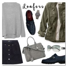 """LOAFERS: Fall Footwear Trend"" by sjkdesign ❤ liked on Polyvore featuring rag & bone, Vince, Gianfranco Lattanzi, Burberry, Alexander McQueen and Gucci"