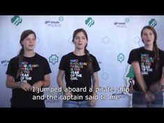 Girl Scouts have awesome videos teaching some fun songs Girl Scout Camp Songs, Girl Scout Activities, Girl Scout Camping, Letter Activities, Music Activities, Silly Songs, Fun Songs, Songs To Sing, Camp Skits