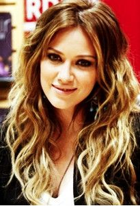 love the blonde ombre hilights on light brown hair