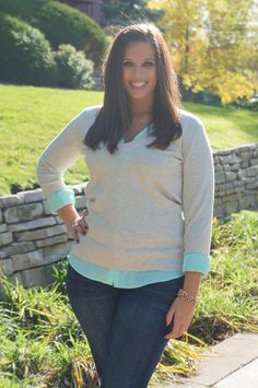 """layers, #curvy """"if you like my curvy girl's fall/winter closet, make sure to check out my curvy girl's spring/summer closet."""" http://pinterest.com/blessedmommyd/curvy-girls-springsummer-closet/pins/"""