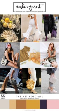 #NetHoldAll #NetBag #MeshBag #Mesh #Handbag #SS18 #SS2018 #SS19 #SS2019 #BagTrend #HandbagTrend #Trend #TrendForecaster #TrendForecasting #TrendAnalyst #TrendAnalysis #MicroTrend #MacroTrend #EmergingTrend #Accessories #Fashion #LadiesFashion #Style #StreetStyle #UrbanStyle #AmberGrant