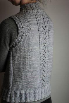 NobleKnits.com - The Brown Stitch Nordic Trail Vest Knitting Pattern, $7.95…