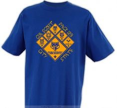 Sports all Ranks - Cub Scout™ Pack Design Boy Scout Troop, Scout Mom, Scout Leader, Wolf Scouts, Cub Scouts, Cub Scout Shirt, Cubs Shirts, Paws T Shirt, Shirt Price