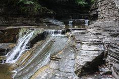 Robert H. Treman State Park, Ithaca, New York www.stephentravels.com/top5/waterfalls