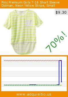Pinc Premium Girls 7-16 Short Sleeve Dolman, Neon Yellow Stripe, Small (Apparel). Drop 70%! Current price $9.30, the previous price was $31.00. http://www.adquisitio.us/pinc-premium/girls-7-16-short-sleeve-4