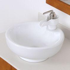 Elite A46OBN Modern Ceramic Bathroom Sink Facuet - Overstock Shopping - Great Deals on Elite Bathroom Faucets