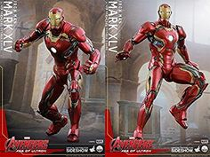 Amazon.com: Hot Toys Marvel Avengers Age of Ultron Iron Man Mark XLV 45 Quarter 1/4 Scale Figure: Toys & Games buy now http://amzn.to/2q4SQNw
