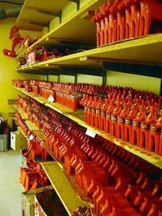 dala horse factory