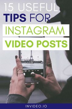 Want to be successful on Instagram? Then you have to invest some time in video creation! Learn 15 useful tips for engaging Instagram video posts, visit the InVideo blog and get inspired! More Instagram Followers, Most Popular Social Media, Video Advertising, Business Goals, Influencer Marketing, Business Marketing, Instagram Story, Posts, Inspired