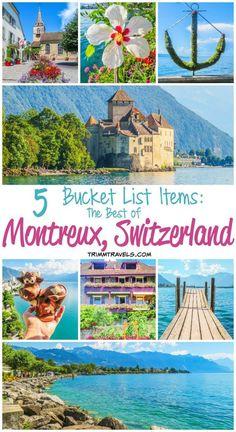 Lake Geneva Switzerland, Switzerland Travel Guide, Switzerland Itinerary, Switzerland Vacation, Places In Europe, Places To Travel, Travel Destinations, Vacation Places, Dream Vacations