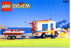 City - Surf and Sail Camper [Lego 6351]