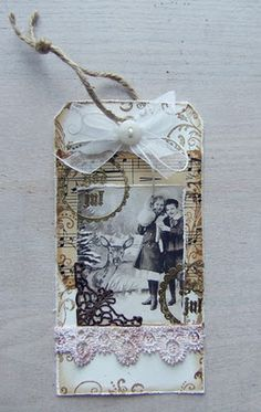 Christmas tag... steampunked