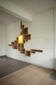 Filip Janssens - agencement - mobilier - contemporain - design. maatwerk/welle