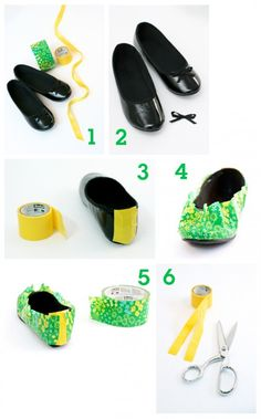 DIY shoes - love!