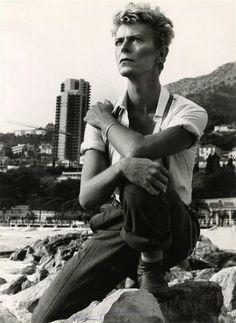 David Bowie, Monte-Carlo   Helmut Newton, 1982