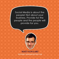 #SocialMedia is about the CUSTOMERS!